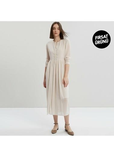 Yargıcı Elbise Bej